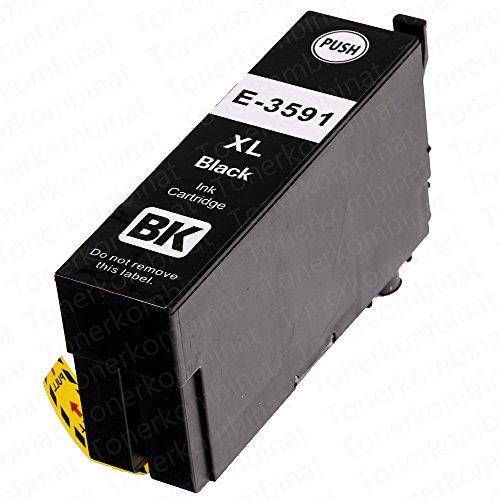 1 EasyInk Druckerpatronen kompatibel zu EPSON 35XL T3591 Black für Epson Workforce Pro Serie WF 4720 DWF WF 4730 DTWF WF 4735 DTWF WF 4740 DTWF - 1 Ea-toner-patrone