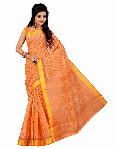 Roopkala Silks & Sarees Cotton Saree(MA-1006_Rust)