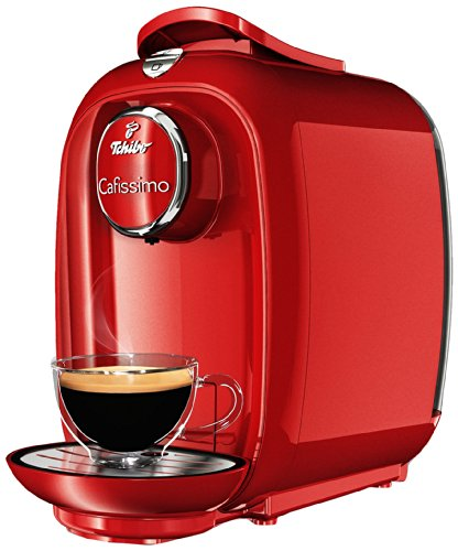 Tchibo Cafissimo PICCO Kaffeekapselmaschine, red fire