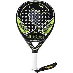 Vibor-A Black Mamba Pala de pádel unisex, amarillo, talla única