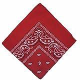 50%  de réduction nationaux Bandana en coton Motif cachemire Double face Head Wrap Boolavard Bracelet foulard foulard