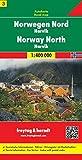 Norwegen Nord - Narvik, Autokarte 1:400.000, Blatt 3, freytag & berndt Auto + Freizeitkarten - Freytag-Berndt und Artaria KG