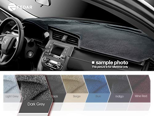 Preisvergleich Produktbild Fedar 2007–2013 Chevy Silverado Pickup / GMC Sierra Tonabnehmer Armaturenbrett Matte Pad