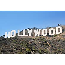 HSE Hollywood Sign Póster Amazing Shot – Los Angeles raras Hot 24 x 36 inch