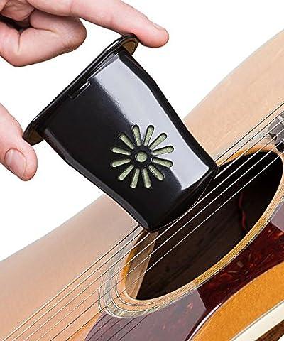Guitare humidificateur + Capo + Support pour médiator + Seringue pour recharge rapide et facile–par Musicvow–Comprend le livre électronique gratuit avec instructions et Conseils pour CE acoustique Ensemble d'accessoires
