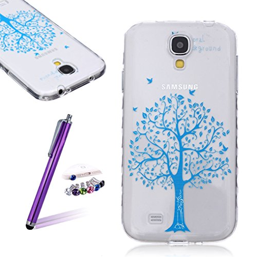 LOOKAY Samsung Galaxy S5 Coque Housse Silicone Etui Case Cover Transparent Crystal Clair Soft Gel TPU (B11) 12HUA