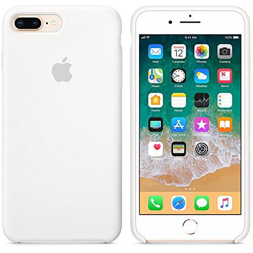 A & w 2018 estate ultima custodia in silicone per iphone 7plus/8plus (iphone 7plus/8plus, bianco)