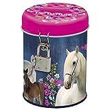 I love Horse Pferde Spardose mit Schloss und Schlüssel