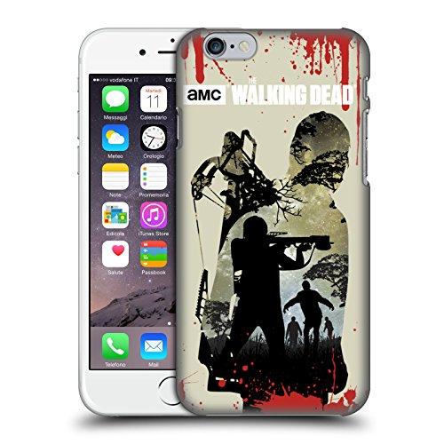 Offizielle AMC The Walking Dead Hand Silhouetten Ruckseite Hülle für Apple iPhone 6 / 6s Voller Daryl