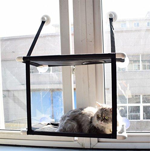 PLQ Katze Hängematte Katze Fenster Installation Bett Sonnenliege Haustier Hängematte Gewächshaus...