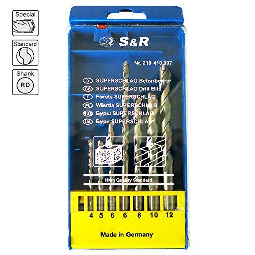 S&R Betonbohrer Set (7-tlg.) - 2