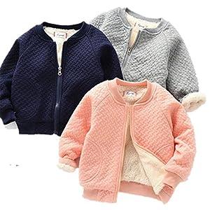 Longra Abrigo para Bebés Abrigo Bebés Outwear Jersey Invierno Chaqueta Ropa para Niños 13