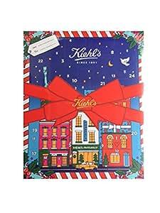 Kiehl's, calendario dell'avvento 2017,edizione limitata con 4prodotti delle dimensioni originali