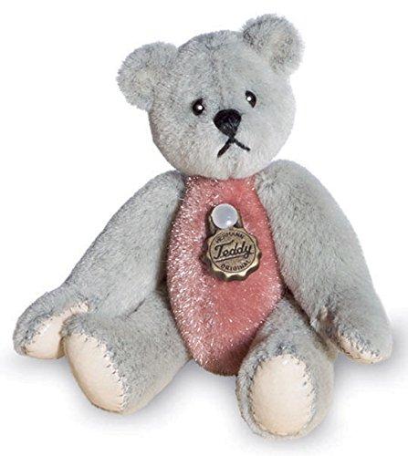 Teddy Bär grau/rose 154334 v. Teddy Hermann -
