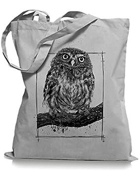 Big Owl Stoffbeutel |Eulen Eule