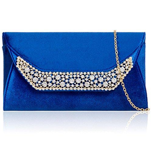 Xardi London, Poschette giorno donna Royal Blue