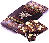 PSYCHO CHOCOLATE - Chilli Dark Ginger Beer with Naga Jolokia (Ghost Pepper) - 3 x 100g Bars