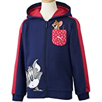 Puma Jungen Kapuzenjacke Fun Tom und Jerry
