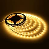 #4: LED Strip Warm White (Yellowish Colour) With Power Supply And Brightness Controller Perfect For Indoor Use