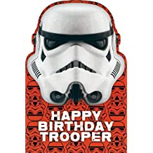 Happy Birthday stormtrooper soldado star wars carta