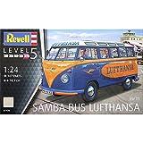 Revell 07436Bausatz VW T1Samba Bus Lufthansa