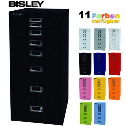 Schubladenschrank aus Metall mit 8 Schubladen in 11 Farben