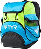 TYR Alliance Team Zaino da Nuoto Mini, Blu/Verde