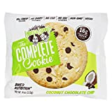 Lenny & Larry's The Complete Cookie, COCONUT-Chocolate-Chip, 12 Vegan Cookies á 113g Box