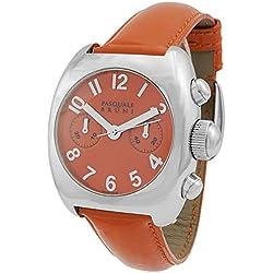 Pasquale Bruni Uomo Chronograph Edelstahl Swiss Made Automatik Herren-Armbanduhr 01mca44