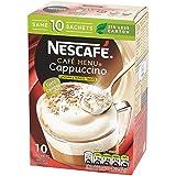 Nescafé Non Sucré Cappuccino 10 X 14,2 G - Paquet de 6