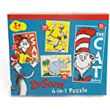 Paul Lamond 4-in-1 Dr Seuss Puzzle