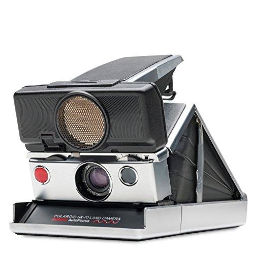 Polaroid Originals - 4698 - SX-70 - Autofokus Sofortbildkamera - Silber-Schwarz