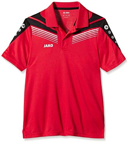 JAKO Kinder Polo Pro Rot/Schwarz/Weiß