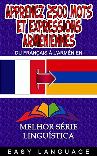 Couverture du livre Apprenez 2500 mots et Expressions Arméniennes