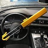 TierXXL Fermeture à double barre pour voiture Dispositif  antivol Griffes volant Barre de blocage (SWTBL)