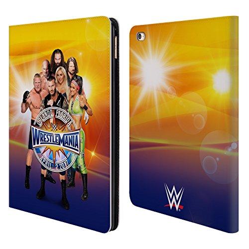 Offizielle WWE Gruppe Wrestlemania 33 Superstars Brieftasche Handyhülle aus Leder für iPad Air 2 (2014) (Ipad Air 2 Case-hulk)