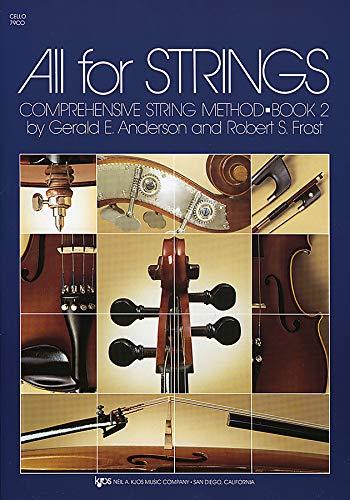 All For Strings Book 2 -Cello-: Noten für Cello