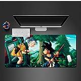 sxkdyax Tapis de Souris Tapis de Souris et Petite Fille Gamer Ordinateur Clavier Jeu Concours Mats Anime Jeu PC Ordinateur Mause Pad-70CMX30CM...