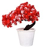 #9: Styles Creation Red Artificial Flowers Bonsai Bouquet/Bunch For Home/Wedding Decoration ( ARTFLWR26)
