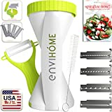 New & Updated 4-in-1 enviHome Zoodle Mak...