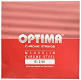 Optima 2101 Mandoline CHROME Strings, Loop End e''-1 (Paar)