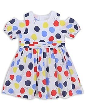 The Essential One - Baby Kinder Mädchen Kleid - Gelb/WeiB - EOT275