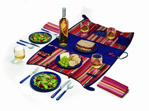 Price comparison product image Creative Tops Built Ny Convertible Picnic Bag and Four Place Setting