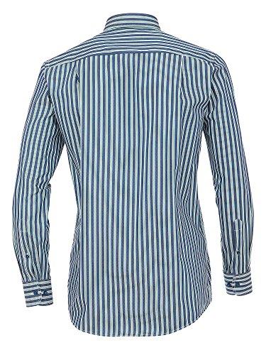 CASAMODA SPORTS Herren Freizeithemd 100% Baumwolle - auch große Größen Comfort Fit Grün