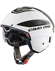 Cratoni Casco Vigor S de Pedalec Talla L 58–59cm brillo blanco antracita