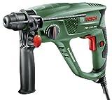 Bosch DIY Bohrhammer PBH 2100 SRE, SDS-Adapterbohrfutter, Tiefenanschlag, Zusatzhandgriff, Koffer (550 W, 20 mm max. Bohr-Ø in Beton)