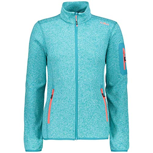 CMP Damen Strick Fleece Jacke Curacao-Anice, 38 Fleece-jacke