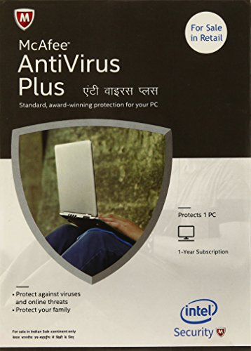 McAfee Anti-Virus Plus - 1 PC, 1 Year (CD)