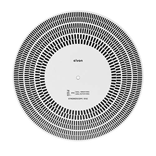 VvXx LP Vinyl Record Turntable Phono Tachometer Calibration Strobe Disc Stroboscope Mat 33 45 78 RPM