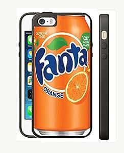 Case Schutzrahmen hülse Fanta Cola Ft1 Abdeckung für Iphone 5 5s Border Gummi Silikon Tasche Schwarz @pattayamart